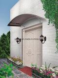 Сень двери прочного поликарбоната DIY напольного алюминиевая (YY900-I)
