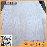 madera contrachapada de 1220X2440X4m m Okoume con el pegamento E1