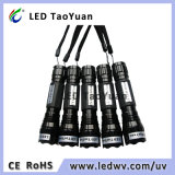 La lampe-torche de lumière UV emploie 3W