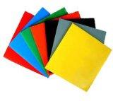 Folha crua revestida UV personalizada da cavidade do policarbonato da cor 100%