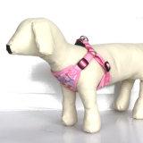 調節可能な標準的で柔らかいベスト犬の子犬ペット馬具(HY113)