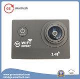 Leva impermeable de la mini de la cámara de vídeo del deporte acción teledirigida sin hilos de WiFi DV 720p