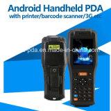 Drahtloses androides Hand-Positions-Terminal mit Drucker-und RFID Kartenleser für Parken-Karten-System