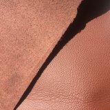 Cuero de microfibra suave para la fabricación de muebles Hx-Mf1701