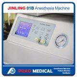Máquina barata de la anestesia del sitio de trabajo de la anestesia con el ventilador