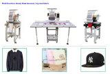単一ヘッド12カラー帽子かTシャツまたは平らな刺繍機械