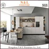 現代様式のホーム家具の木製の光沢度の高いラッカー食器棚