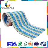 Kundenspezifischer Produkt-Kennsatz-Drucken-thermischer Umdruckpapier-Kleber gedruckter Aufkleber
