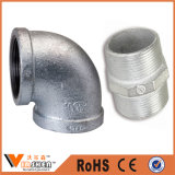 Buena calidad galvanizó montaje de tubería de hierro maleable
