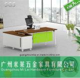 Pierna de acero L escritorio del vector de la calidad excelente de oficina moderno de la dimensión de una variable