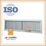 Griglia di alluminio di deviazione del doppio del diffusore dell'aria del soffitto di Whosale nella ventilazione
