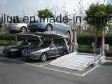 Un uso domestico dei due alberini che inclina l'elevatore della gru dell'automobile della strumentazione di parcheggio