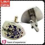 Mancuerna de encargo barata del metal con insignia