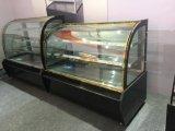 Refrigerador baixo de mármore comercial do Showcase do indicador do bolo na boa qualidade