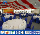 grande belle tente extérieure blanche de mariage de 20X50m à vendre