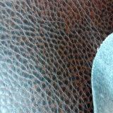 Кожа PU мебели Faux для софы, места автомобиля, стенда Hw-206