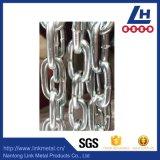 Catena di sollevamento variopinta dell'acciaio legato del piatto G80 dello zinco