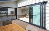 Wetter-Beweis-Doppelt-Glas, das Stall-Türen schiebt