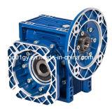 China Nmrv 025-130 cajas de engranajes de aluminio del gusano de la aleación