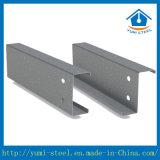 Purlins de aço galvanizados da vertente da seção das tiras C/Z do aço