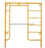 건축재료를 위한 사다리 프레임 비계를 통해서 HDG 도보