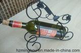 Eindeutiger einzelner Flaschen-Halter-Wein-Ausstellungsstand für Metallzahnstange