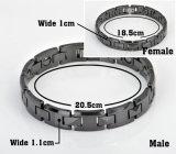 Braccialetto magnetico all'ingrosso di Hottime per la signora con il Tourmaline (10072)