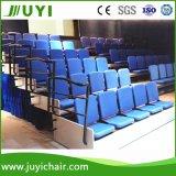 Tribuna Teatro Auditorio Tribune telescópicas Gradas sistema del asiento Jy-768f fábrica suave