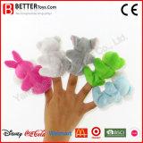 ぬいぐるみの赤ん坊のための柔らかいおもちゃ指のパペットか子供または子供