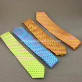 La seda hecha a mano 100% imprimió la aduana d corbata personalizada