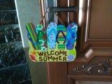 金属の漫画のホーム装飾のドアの歓迎されたハングのクラフト
