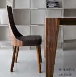 最も新しい椅子(NK-DCA052)を食事するすべての革カバーラウンジの喫茶店