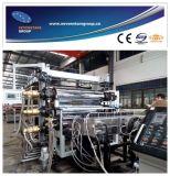 Linea di produzione libera della scheda della gomma piuma del PVC per la scheda di pubblicità
