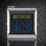 Thermostat-Noten-Schalter der Klimaanlagen-4-Pipe im Metallrahmen (SK-AC2000B-4P)
