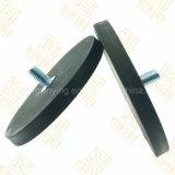 D88mm Black Plastic Muck Suckers Hook, personnalisé