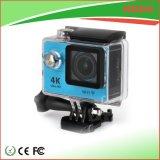 appareil-photo de sport du casque 4k avec le WiFi et le cas imperméable à l'eau