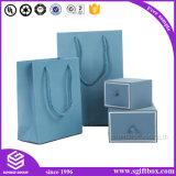 Handgemachter steifer Geschenk-Papier-Schmucksache-Luxuxkasten