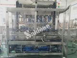 Llenador automático modificado para requisitos particulares de la miel con servicio de ultramar