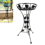 Decorative Metal Garden Handicraft Decoration Ground Flowerpot Rack