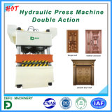 Máquina de acero de la prensa de la puerta