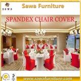 卸し売りスパンデックスの椅子カバー白いLycraの椅子カバー