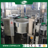 물 생산 라인 기계장치의 최신 용해 접착제 레테르를 붙이는 기계