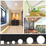 Sensor de movimento IR quadrado LED Painel de luz para economia de energia