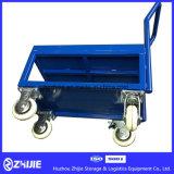 De Lading die van de Kar 150kg-300kg van het Platform van de Hand van het pakhuis het Karretje van de Hand vouwen
