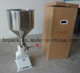 A03 Pasta manual llenadora de llenado de la máquina Presión de mano
