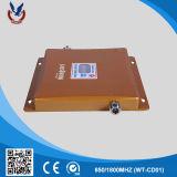 De draagbare 3G 4G Spanningsverhoger van het Signaal van de Telefoon van de Cel 850/1800MHz voor Huis