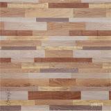 Papel decorativo del grano de madera laminado del suelo