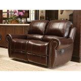 Верхняя софа кожи кресла кожи с сохранённым природным лицом для живущий комнаты