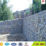 Gabion 담 또는 Gabion 벽 디자인