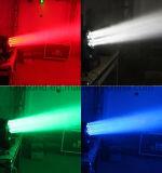 Professionele en Hoogstaande 3W LEIDENE 36PCS RGBW Straal die het Hoofd Lichte IP 65 Licht van de Vloed van de Straal van de Was bewegen